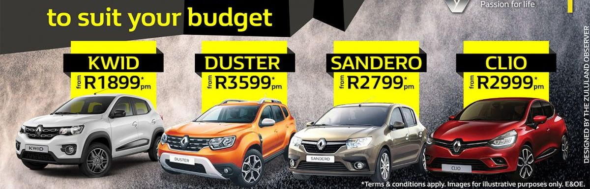 We have a Renault to suit your budget